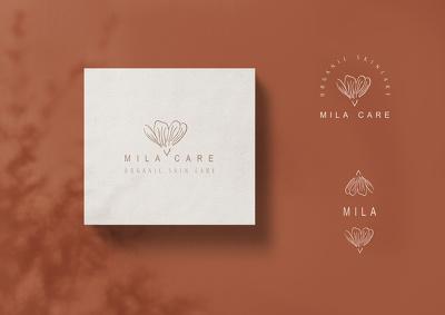 Design a botanical hand-drawn logo for your brand