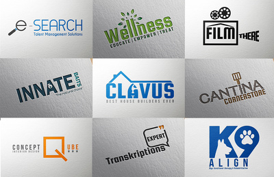Design creative logo + 2 concepts +  with copyrights