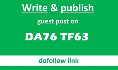 Publish A Guest Post On High DA76 TF63 Travel Website - DOFOLLOW