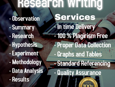 Write research reports, summaries and literature review