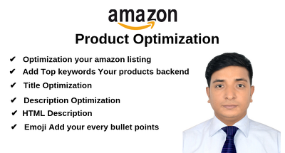 Write 20+  Amazon Product Optimization