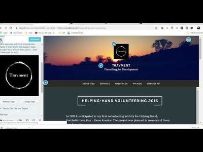 Design an entry level website on weebly, squarespace & WordPress