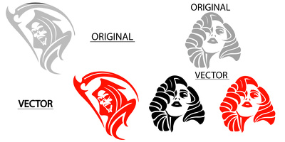 Manually Vector Trace,Logo,Image,Drawing In HD in 6 hours