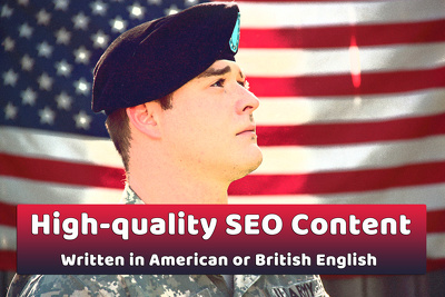 High Quality SEO Content Articles or Blog Posts - Native Writer