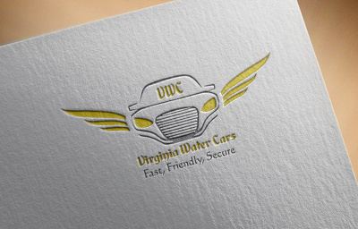 Design Modern logo with 3 initial concepts
