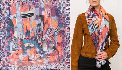 Create a scarf design