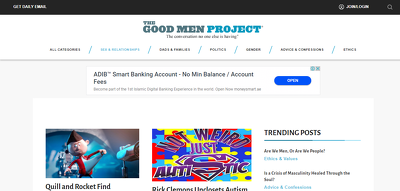 Guest Post on GoodmenProject.com - GoodMenproject - Do Follow