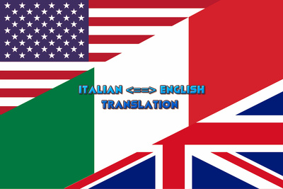 Translate 5000 words from english to italian and viceversa