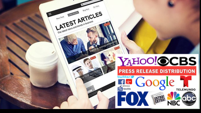 Submit  Press Release And Distribute To News Website