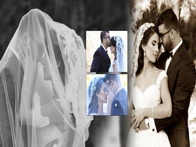 Do wedding album design 10 spreads (20 pages)