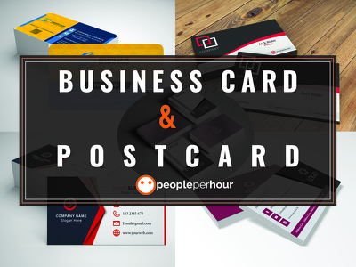 Design Creative Business Cards Or Postcards Unlimited revisions