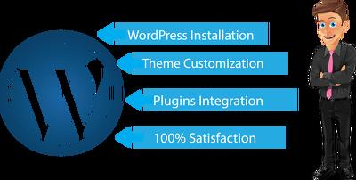Install wordpress & Theme customization /plugin activition