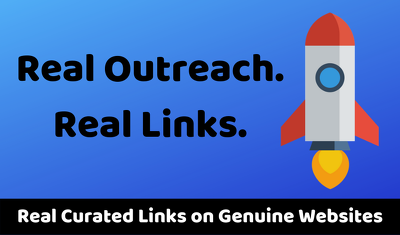 Real Blogger Outreach DoFollow Link Building on Real Sites