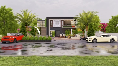 Create 2D Design and 3D Architectural Modeling And Rendering