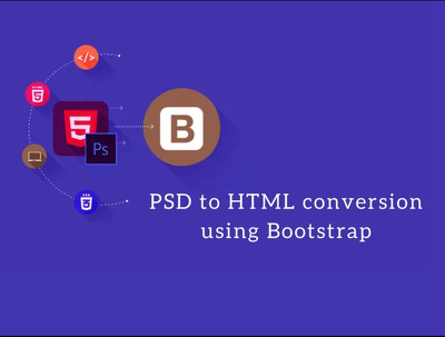 Do Psd to html responsive website using Bootstrap