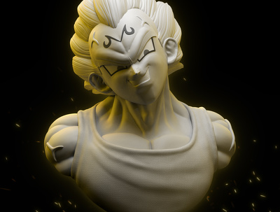 Make you a 3D model of character for 3D printing