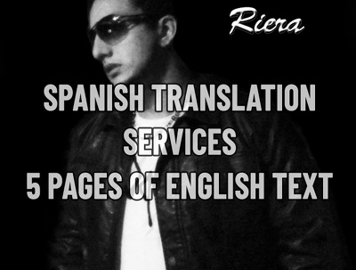 Translate 5 english to spanish text pages (Non technical)