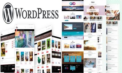 Design WordPress Blog, Business, eCommerce website