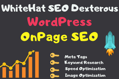 OnPage SEO for Wordpress Shopify to Rank Faster in google