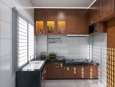 Do excellent interior 3d rendering