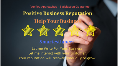 Build up positive Reputation for Your Business