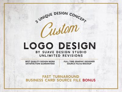 Do unique logo design with business card bonus