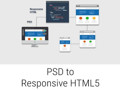 Do PSD to Responsive HTML5+CSS3 webpage