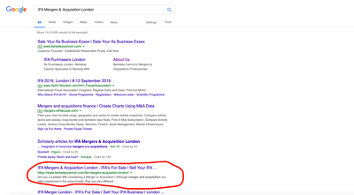 Rank your website to the first page of google within 3 months