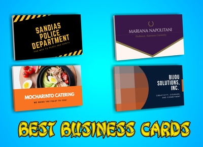 Design simple Business Cards fast