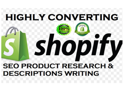 Write SEO Product Descriptions For Your Shopify Store
