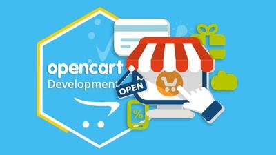 Opencart store setup