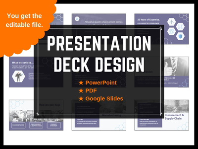 Design an Awesome 10 Slide Presentation