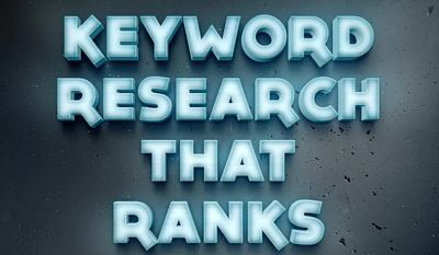 I will do Keyword Research for SEO