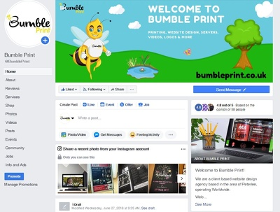 Design your facebook brand page
