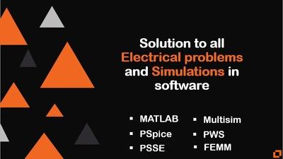 Design And Simulate Circuits On Multisim, Matlab, Simulink&Pws