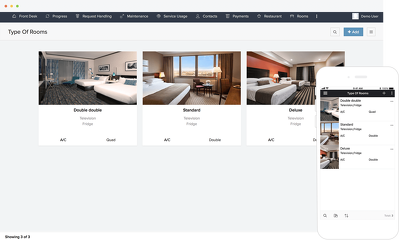 Create a Hotel Management Web Site