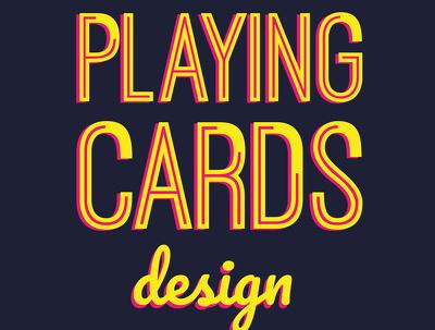 design a 52 card playing card set