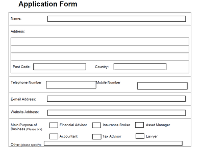 Convert an existing form into an editable PDF form.