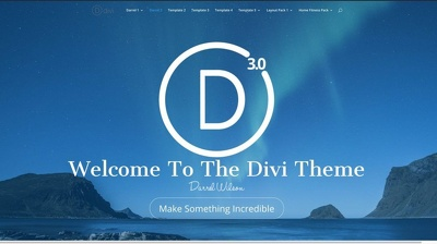 Complete Website Unlimited Pages WordPress website by DIVI theme
