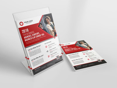 Design One Page Creative Flyer / Leaflet + Unlimited Revisions