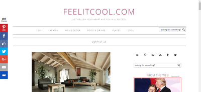 Place a Guest post on FeelitCool.com - DA62