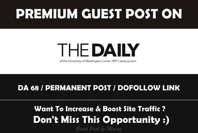 Post on Washington University Official News Site - Dailyuw.com