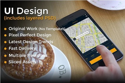 Design Professional UI / UX For Android / iOS / Window