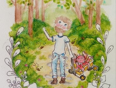 Do illustration for your Children's book