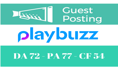 write/Publish Article on Playbuzz.Com | 10+ Million Monthly Visi