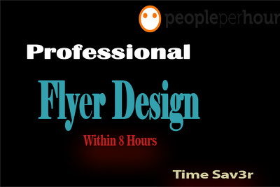 Design a professional Flyer/ Brochure within 8 Hours