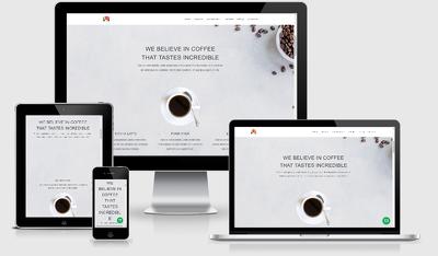 Create a responsive e-commerce website.