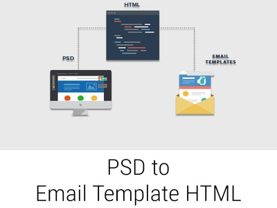 Convert PSD To Email Template HTML