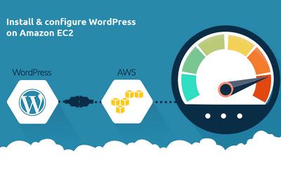 WordPress on AWS (EC2) infrastructure