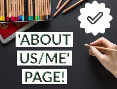 Write a rewarding 'About Us/Me' page for raising brand awareness